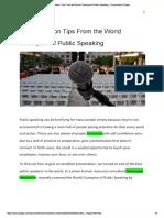 5 Presentation Tips From...Ing - Documentos Google