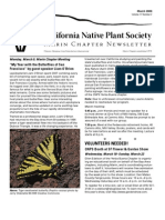 March 2009 Newsletter ~ Marin Chapter, California Native Plant Society