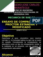 08 Ensayo de Compactación Proctor Estandar y Modificado