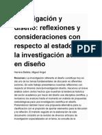 Investigación y Diseño