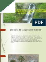 proyecto para desarro potencialde ecoturismo de huanano