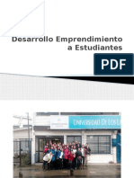 Desarrollo Emprendimiento a Estudiantes