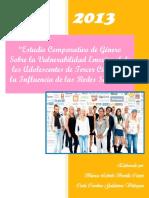 Estudio comparativo de género sobre la vulnerabilidad emocional de los las adolescentes ante la influencia de las redes sociales..pdf