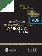 LIBRO Leetoy Salvador - Las Revoluciones Necesarias Para America Latina
