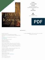 John Macarthur - Jesús Que No Puedes Ignorar