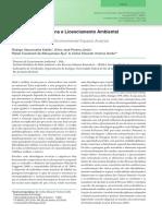 Ecologia Da Paisagem e Licenciamento Ambiental