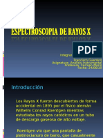 E de Rayos X