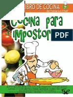 Cocina Para Impostores - Falsarius Chef