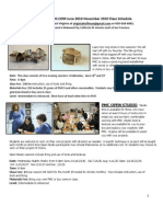 Summer - Fall 2010 Classes Pmc for Website PDF