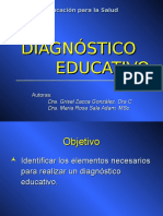 El Diagnostico Educativo