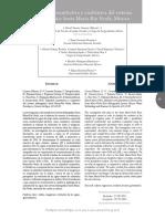 Salinidad Cuantitativa y Cualitativa Del Sistema RIO VERDE