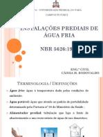 Instalações Prediais de Água Fria_Cássia