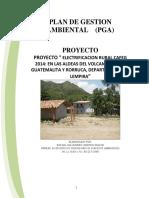 Proyecto de Lectrificación Rural Terminado