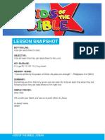 lesson 6 josiah