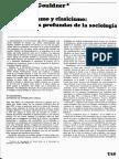 Romanticismo y Clasicismo Estructiuras de La Sociologia