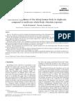 Holmlund y Lundström - 2001 - Mechanical Impedance of the Sitting Human Body in