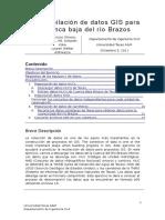 La Recopilación de Datos GIS Para La Cuenca Baja Del Río Brazos_Traducción de 05 Compiling GIS Data for Lower Brazos River Basin