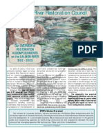 Salmon River Restoration Council Newsletter, Summer 2005