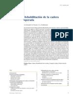 2005 Rehabilitación de La Cadera Operada