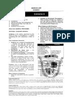 San Beda Remedial Law (Evidence)