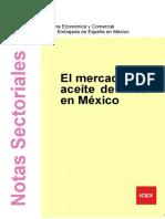 Estudio de Mercado Aceite de Oliva