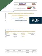 Especificaciones Para Elaboracion de Proyectos Etc-tsc-09