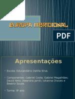 Europa Meridional em slide