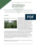 Describir La Bioacústica Del Espectro de Potencias Para El Año 2015 en El Punto Dos Café Bajo Sombra Hacienda Majavita