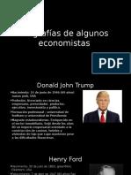Biografías de Algunos Economistas