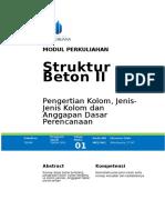 Modul 1 STRUKTUR BETON 2