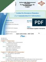 La Communicatin Et L_information