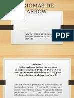 Axiomas de Arrow