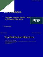 Trip Distribution (1)