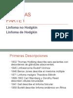 Oncología - Linfomas - Pronóstico