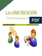 1 La Comunicacion y Su Proceso