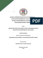 Analisis Del Protocolo Snmpv3 Para El Desarrollo de Un Prototipo de Monitoreo de Red Segura - 98t00017