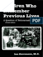 Ian Stevenson - Children Who Remember Previous Lives (2001)