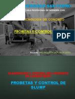 9.Elaboración de Concreto Probetas y Slump