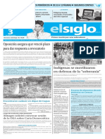 Edicion Impresa El Siglo 03-06-2016