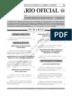 Ley General de Prevención de Riesgos en los lugares de Trabajo, Diario Oficial N°82, Tomo 387, 05-mayo-2010. (1)