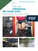 ICLR - Basement Flooding Brochure - French Final