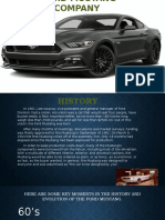 FORD MUSTANG COMPANY TIMELINE.pptx