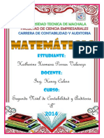 Portafolio de Matematica Ya Listo