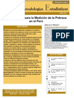 Metodologia INEI Medicion Pobreza