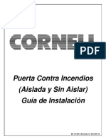 EDR 10-339 Installation Instructions Fire Door Cornell-Espanol
