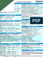 Fedora 12 Cheat Sheet