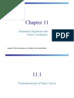 11.Parametric Equations and Polar Coordinates