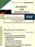 Kuliah Bleeding and Transfusion 2010