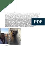 rome journal entries