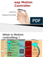 Leap Motion Controleer